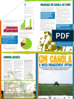 DAFWA Factsheet GM Canola