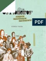 Livro Os Pioneiros Rodrigo Teixeira PDF Final 080110