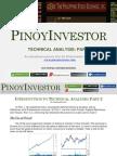 Technical Analysis Part 2 - PinoyInvestor.com