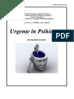 Urgente in Psihiatrie Recomandare Metodica