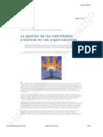 L1. La Gestion de Las Habilidades Creativas en Las Organizaciones HL 2014