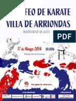Normativa 2014 II Trofeo Villa de Arriondas