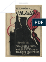 18 de Julio - Guzmán de Alfarache