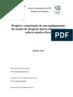 Projeto e Construcao de Um Equipamento