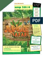 Kids Camp 2014 Newsletter