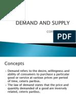 Demand and Supply Presentation (coffee market)