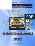 Manual Evo DA181_W8