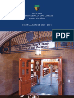 Yale Law Library biennial report 2007-2009