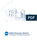 Company Funding Programs June 2009 (Federal)