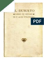IL BURATO. Libro de recami / Alex Paganino