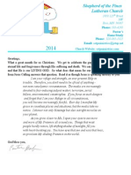 April 2014 Newsletter