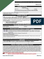 Camper Medical Form
