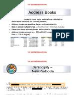 Address Books, Serendipity