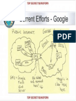 NSA Powerpoint Slide - Google Cloud Exploitation