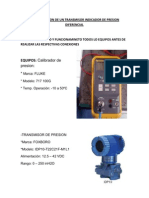 79169961 Configuracion de Un Transmisor Indicador de Presion Diferencial