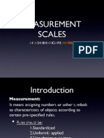 Measurement Scales in Research Methodology