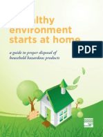 Healthy Environment Starts at Home
