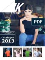 JHK-T-shirt 2013 - NL catalogus kledij