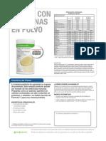 Herbalife Caracteristicas Polvo de Proteina