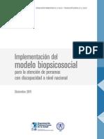 RBC RehabilitacionComunitaria Modelo Biopsicosocial