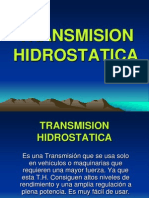 TRANSMISION HIDROSTATICA
