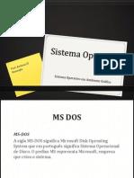 Sistema Operativo aula nº 1