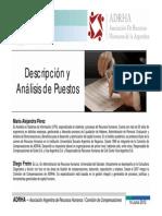 ADRHA - Taller sobre Descripción y Análisis de Puestos - Junio 2012