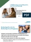 Reducing Teen Childbearing Among Hispanics