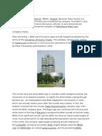 BMW Bayerische Motoren Werke AG (BMW), (English