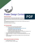 Charleston Beer Garden 2014 - Poster Design Contest
