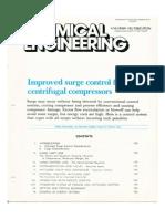 ImprovANTI SURGE CONTROLLER ed Surge Control for Centrifugal Compressors