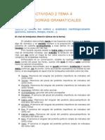 actividad 2-tema 4- categoras gramaticales