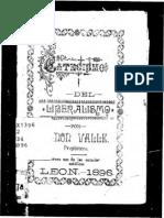 101525645 Catecismo Del Liberalismo Presbitero Ramon Valle