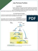 Resumo Bioquímica Via das Pentose Fosfato