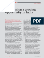 IAM Magazine Issue 0 - Franchising a Growing Opportunity in India