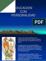 EDUCACION CON PERSONALIDAD.ppt