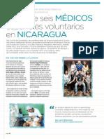 Diario de seis médicos españoles voluntarios en Nicaragua | Revista GHQ #17