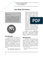 553 Navy Rank Structure