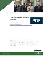 Core Banking at Microsoft[1]