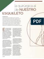 Ingeniería quirúrgica al servicio de nuestro esqueleto | Revista GHQ #17