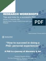 Phd Workshop Prof Ghassan
