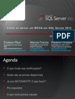 Carreira SQL Server 2012