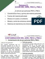 CA SEM12 ..Contaminacion Del Aire PM10 y PM2.5