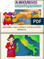 Historia para niños 5- Civilización Romana