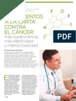 Tratamientos 'a la carta' contra el cáncer