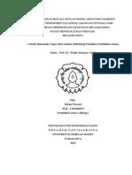 Tugas Judul Dan Rumusan Masalah Penelitian Eksperimen - Sulton Nawawi ( S831402073 )