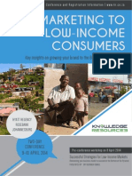 Brochure - Marketing to Low-income consumers
