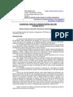 Calidad Del Trigo 2013-14