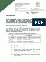 Surat Edaran GC PC 2014