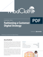Fashioning A Customer First Digital Strategy